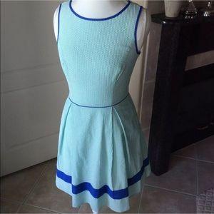 Jessica Simpson Seersucker Dress   Fit & Flare